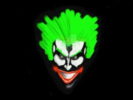 Joker Paint Raster by polariswebworks