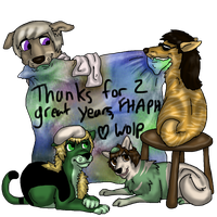 FHAPH 2 Years by SnowWolpard