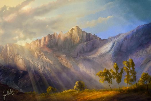 Mount Whitney by chateaugrief