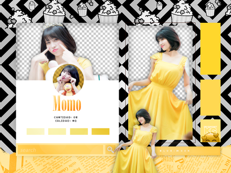 MOMO | TWICE | PACK PNG by KoreanGallery