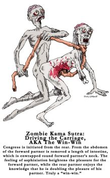 Zombie Kama Sutra: Driving by TroyJunior