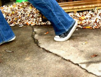Step on a Crack by draw-girl