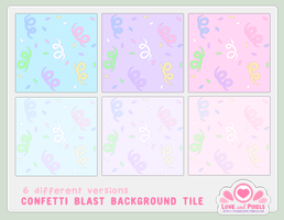 Vector - Confetti Blast BG Pack by firstfear