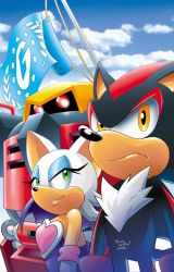 Sonic Universe 4 cover by Yardley
