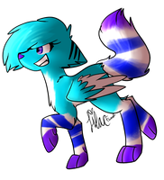 Cascade Chibi by Lilacfwoof