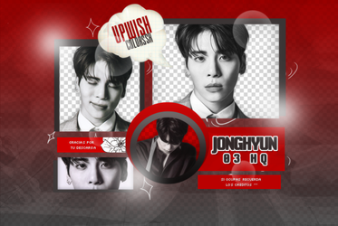 Jonghyun PNG PACK #1/ SHINee by Upwishcolorssx
