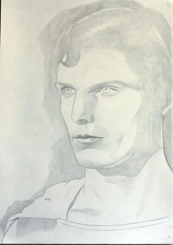 Christopher Reeve Superman Collab WIP by donchild
