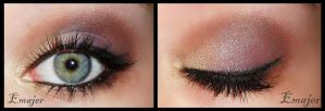 Autumn makeup by Emajer