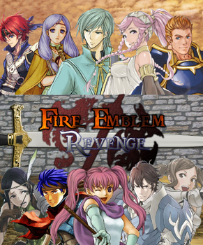 Fire Emblem Revenge DVD Cover by shadow0knight