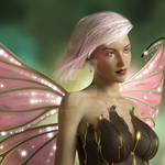 Pink Fairy by Elle-Arden