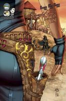 Legends of Oz: The Wicked West issue 6B by JwichmanN