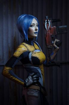 Borderlands maya the Siren cosplay by atomic-cocktail