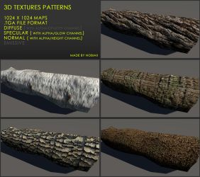 Free 3D textures pack 22 by Yughues