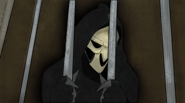 Reaper in Jail by TheAcrylicKnight