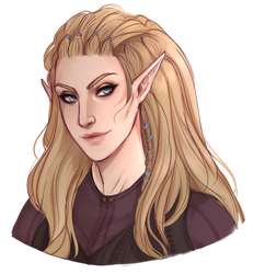 Commission - Aria by nyaruh