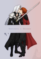 :: Sephiroth x Genesis :: by Lady-Liara