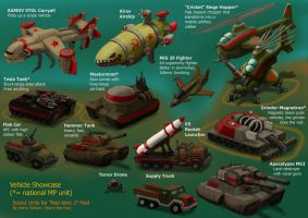 RA2 Mod - Soviet Vehicles by Harry-the-Fox
