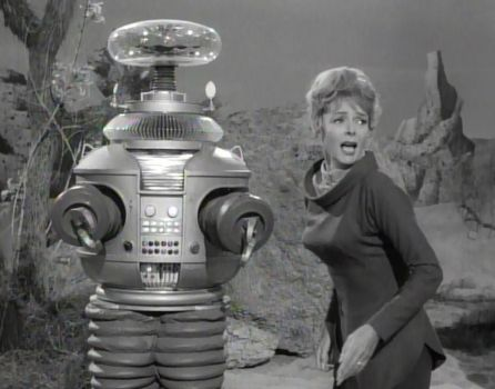 June Lockhart 'Lost In Space' ''Ow! They got me'' by slr1238