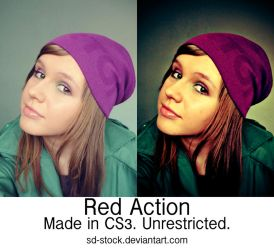 Red Action by sd-stock
