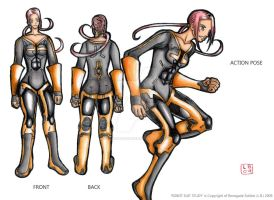 ROBOT SUIT STUDY by renegadesoldier