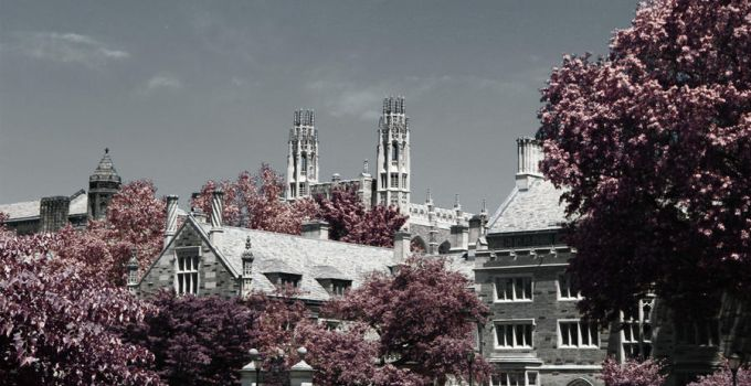 Yale in Infrared by re-dream