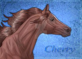 Cherry by WB-Equine-Art