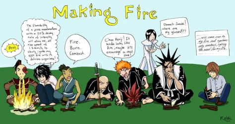 Making Fire 101 by Rahhc