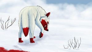 The Snow is Bloody for a Reason AT by SophiePf