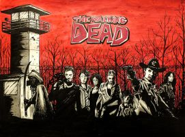 The Walking dead by mmc1uk
