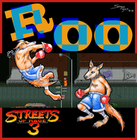 Roo (Streets of Rage 3) by siloru