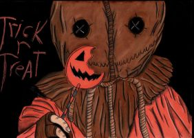 Trick R Treat by charcoalman