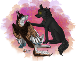 {Heyla and Volk} by Adrenalean