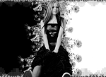 Avril Wallpaper 2 by Galaxy-Love