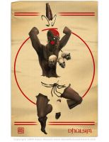 SF Tribute - Dhalsim by Autaux