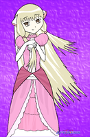 SSBA: Chii as Peach by Apkinesis