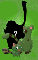 GRASS STARTERS -shadow- by mssingno