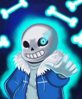 Get dunked on! [Genocide Sans] by Masanohashi