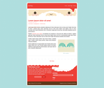 Free WP Theme: Santa 2013 by apparate