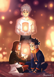 happiness lantern [obito] by SwoopyPoolin