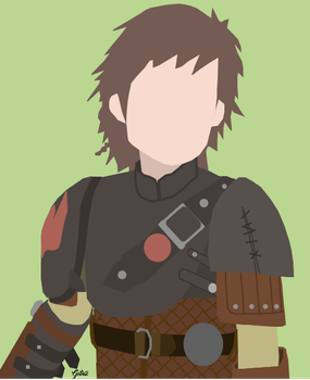 Minimalist Hiccup (Httyd2) by GuardianOfTheNight2