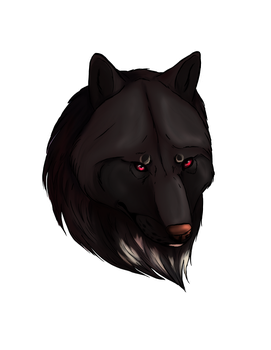 Ink - wolf by CaledonCat