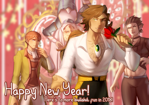 Happy New Year by 3-X-E