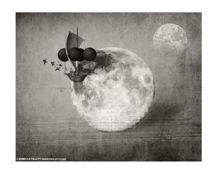Moon by bexe