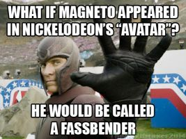 If Magneto is in Avatar... by TheALVINtaker