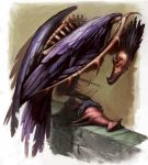 Monster Manual V: Blackwing by IzzyMedrano