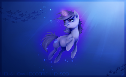 That's how I became the sea by Imalou