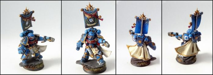 Ultramarines Captain 2nd Company by roganzar