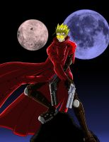 Vash from Trigun by demonbelial