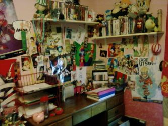 .: Work Space :D :. by NerinSerene