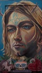 kurt cobain by cannibol